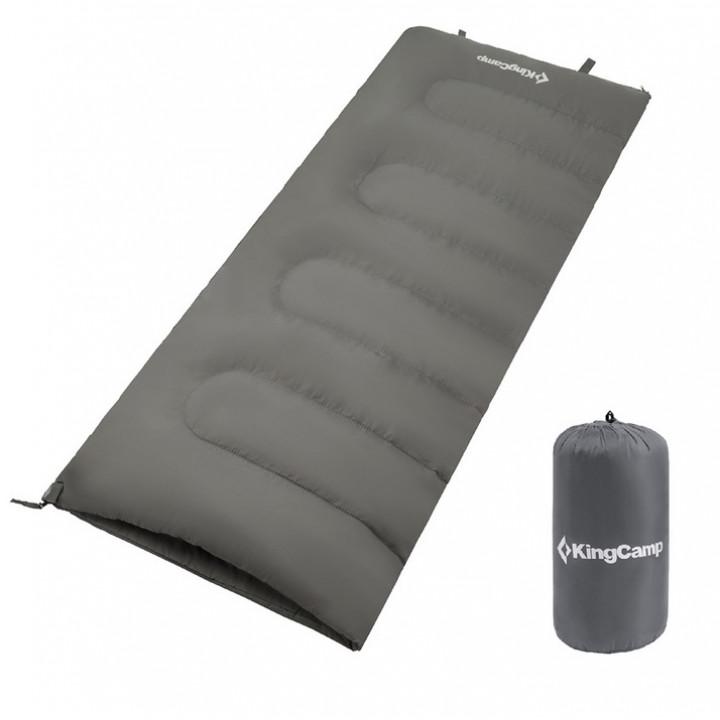 Спальник KingCamp Oxygen grey, левая