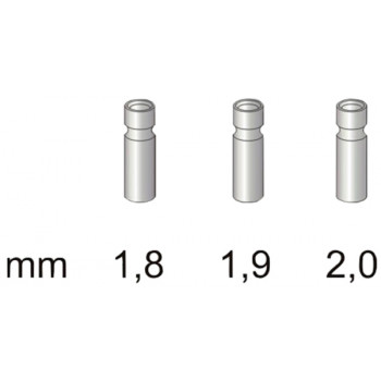Втулка для резинки Stonfo 3 Metal Tip Guides 1.8мм