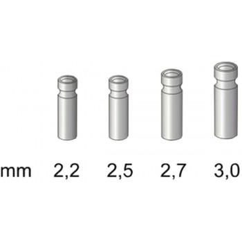 Втулка для резинки Stonfo 4 Metal Tip Guides 2.2мм