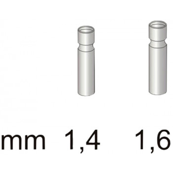 Втулка для резинки Stonfo 3-1 Metal Tip Guides 1.4мм