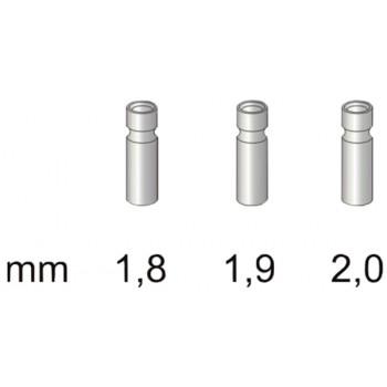 Втулка для резинки Stonfo 3 Metal Tip Guides 2.0мм