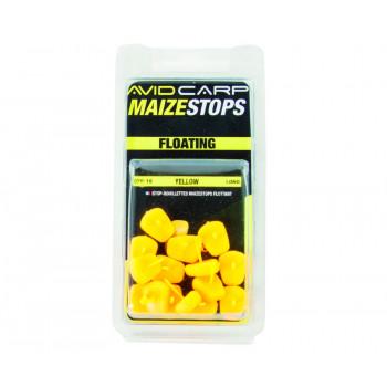 AVID CARP стопора для бойлов плавающие Maize 15шт. Long Yellow
