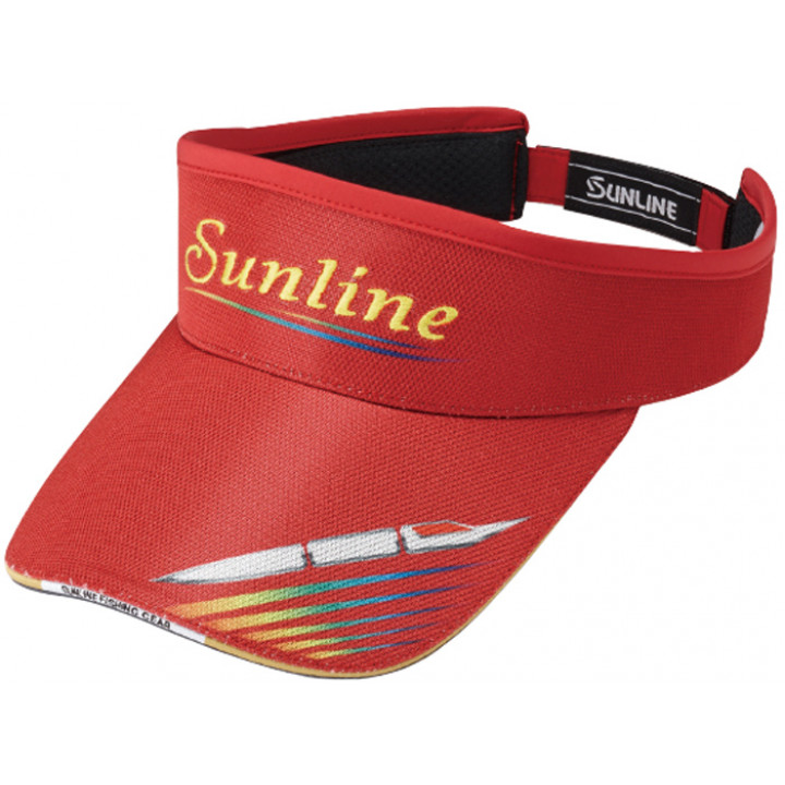 Кепка Sunline Sun Visor CP-3713 ц:red