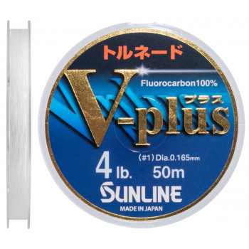 Флюорокарбон Sunline V-Plus 50m #1.0/0.165mm 2.0kg