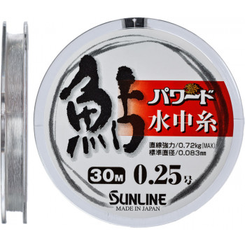 Леска Sunline Powerd Ayu 30m #0.25/0.083mm 0.72kg