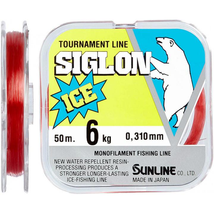Леска Sunline Siglon F ICE 50m #0.6/0.128mm 1.0kg