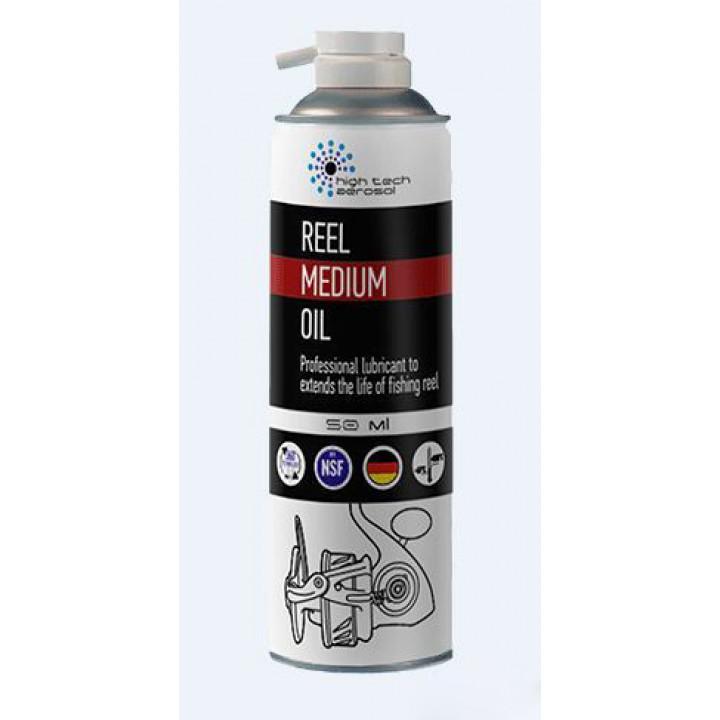 Синтетическое масло для рыболовных катушек HTA Reel Medium Oil 50ml