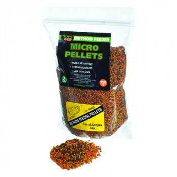 Смесь пеллетсов Технокарп Method Feeder Micro Pellets Corn & Scopex mix