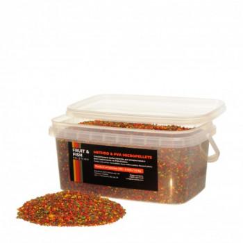 Технокарп Method & PVA Micropellets Fruit & Fish Mix 1.5kg