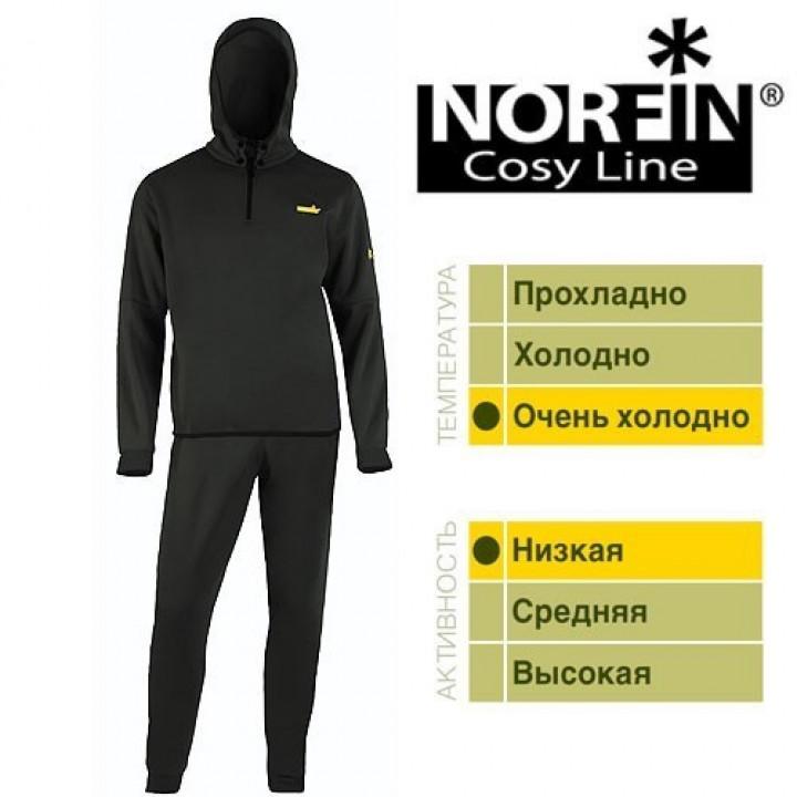 Дышащее белье NORFIN COSY LINE (чёрный) *20 XL