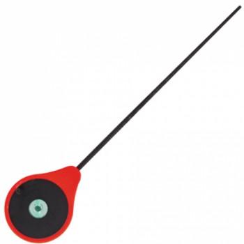 Удилище-балалайка зимнее Lucky John MORMAX (красный) 24,6см