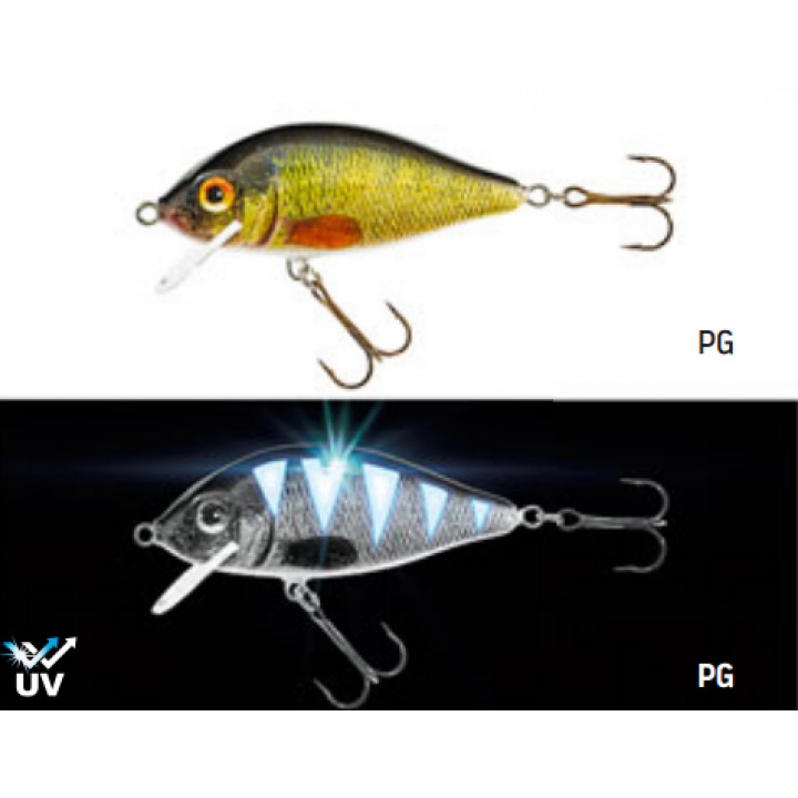 Воблер Jaxon Karas UV 17g 0.5-2.5m Плавающий PG 7.5cm