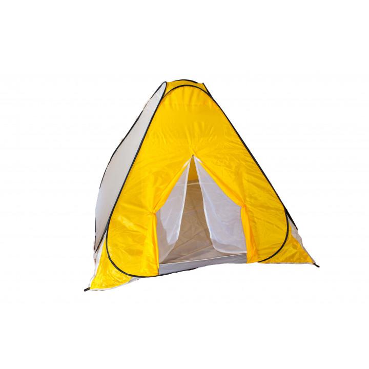 Всесезонная палатка-автомат для рыбалки Ranger winter-5 weekend RA 6602 140х200х200cm 2.4kg Жёлто-белый