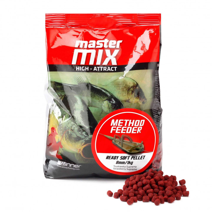 Пеллетс Winner Method/Feeder Ready Soft Pellet 8mm Vanilla Cream